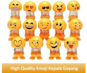 Harga high quality emoji kepala goyang mobil boneka mobil untuk | HARGALOKA.COM