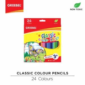 Harga pensil warna kelir 24w greebel classic panjang | HARGALOKA.COM