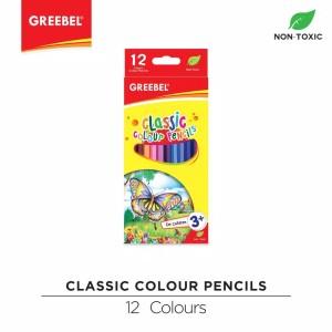 Harga pensil warna kelir 12w greebel classic panjang | HARGALOKA.COM