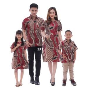 Harga couple batik keluarga mama papa dan anak seragam keluarga | HARGALOKA.COM