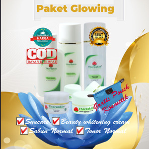 Harga paket terlaris perawatan kecantikan glowing whitening theraskin   HARGALOKA.COM