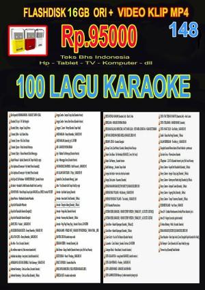 Harga 148 vgen flashdisk 16gb ori isi 100 video karaoke teks bhs | HARGALOKA.COM