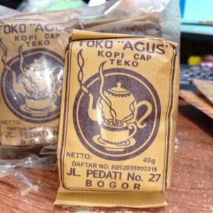 Harga kopi hitam cap teko khas bogor toko agus | HARGALOKA.COM