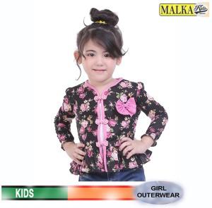 Harga malka kids mt 02   girl cardigan pink flowers baju anak cantik   HARGALOKA.COM