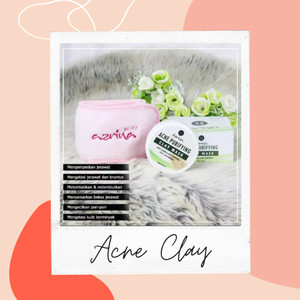 Harga azrina acne purifying clay mask untuk kulit | HARGALOKA.COM