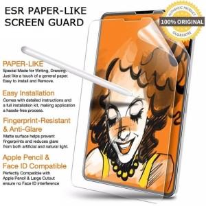 Harga ipad 8 10 2 10 2 inch inci screen guard antigores paper like antiglare     HARGALOKA.COM