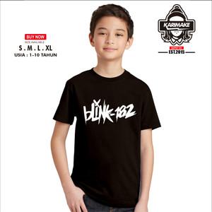 Harga kaos baju anak band blink 182 logo simple kaos musik   | HARGALOKA.COM