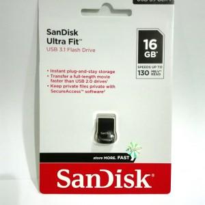 Harga flasdisk sandisk 16gb ultra fit mini original garansi | HARGALOKA.COM