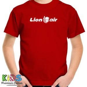 Harga baju kaos anak lion air t shirt pesawat penerbangan | HARGALOKA.COM