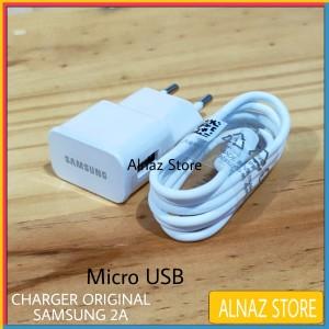 Harga charger samsung 2a original micro usb casan hp samsung ori 100   HARGALOKA.COM