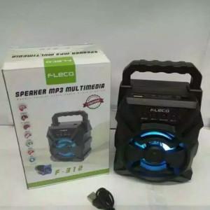 Harga speaker karaoke bluetooth fleco f 312 multimedia speaker | HARGALOKA.COM