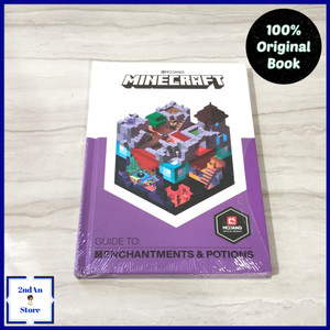 Harga book import minecraft guide to enchantments and | HARGALOKA.COM