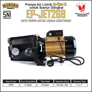 Harga pompa air digital 3 in 1 sumur dangkal multi fungsi honora | HARGALOKA.COM