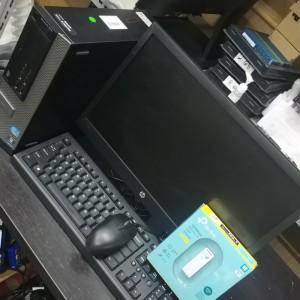 Harga komputer fullset dell 990 sff core i5 2400 4gb 500gb lcd 19 34 wide   HARGALOKA.COM