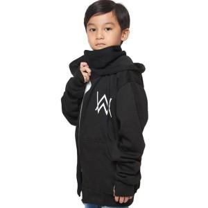 Harga jaket anak alan walker ninja black   hitam | HARGALOKA.COM
