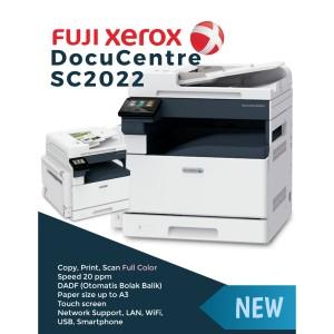 Harga mesin fotocopy warna fuji xerox docucentre sc2022 1 tray | HARGALOKA.COM