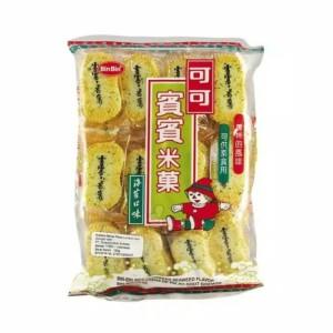 Harga bin bin rice crackers seaweed flavour binbin seaweed 150g free   HARGALOKA.COM