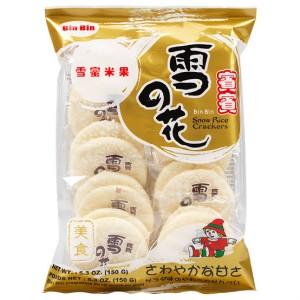 Harga bin bin snow rice crackers bin bin snow 120g free   HARGALOKA.COM