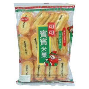 Harga binbin rice crackers bin bin biscuit beras rasa original free   HARGALOKA.COM