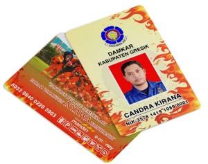 Harga custom kartu e toll mandiri 2 sisi bisa cetak foto id | HARGALOKA.COM