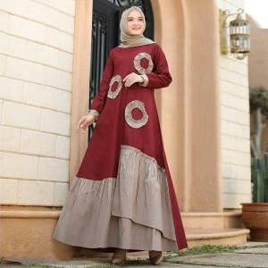 Harga gamis dress busui miranda maxi baju | HARGALOKA.COM