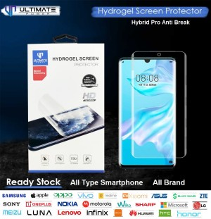 Harga ultimate hybridpro hydrogel screen protector all smartphone all brand   front   HARGALOKA.COM