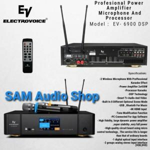 Harga power amplifier mic electro voice ev 6900 dsp bluetooth   usb | HARGALOKA.COM