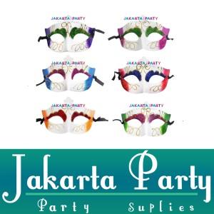 Harga Party Mask Cowo Cewe Masquerade Topeng Pesta Carnival Prom Night Katalog.or.id
