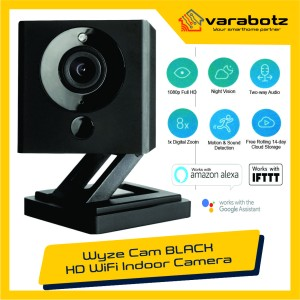Harga wyze cam v2 black 1080p smart home wifi camera | HARGALOKA.COM
