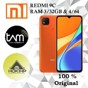 Harga xiaomi redmi 9c ram 3 32gb 4 64gb   garansi resmi   orange 4gb | HARGALOKA.COM