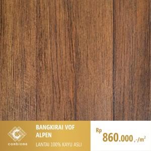 Harga parket lantai kayu asli solid and engineered motif bangkirai | HARGALOKA.COM