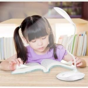 Harga lampu meja lampu belajar 14 led 3 mode sentuh model | HARGALOKA.COM