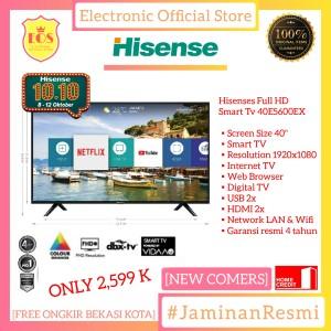Harga led tv 40 inch smart tv hisense 40e5600ex smart tv full hd ready | HARGALOKA.COM