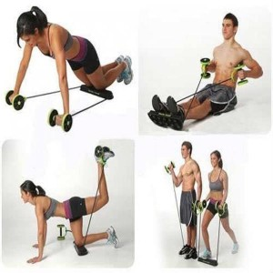 Harga one revolution flex olahraga roller abs | HARGALOKA.COM