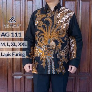 Harga kemeja batik pria lapis furing ag 111     HARGALOKA.COM