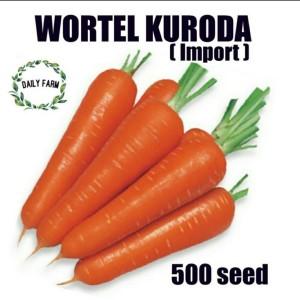 Harga benih bibit kuroda carrot   wortel kuroda kemasan repack | HARGALOKA.COM