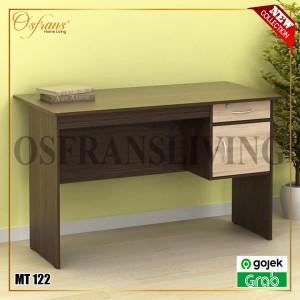 Harga meja tulis meja belajar meja kantor 1 2 biro 120 cm   gojek grab     | HARGALOKA.COM