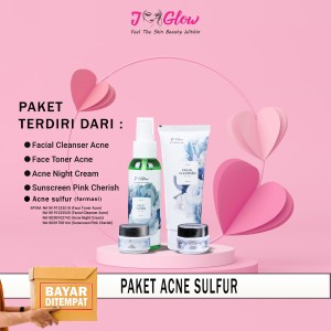 Harga j glow skincare  extra acne sulfur untuk kulit berjerawat | HARGALOKA.COM