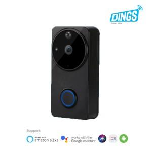 Harga promo dings smart video door bell   bel rumah pintar smart | HARGALOKA.COM