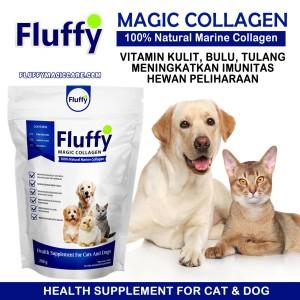 Harga vitamin anjing dan kucing suplemen kolagen murni protein vitamin | HARGALOKA.COM