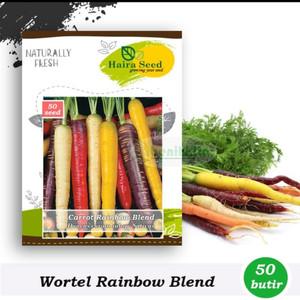 Harga benih bibit wortel rainbow | HARGALOKA.COM