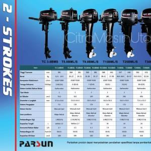 Harga mesin tempel perahu parsun 5 8 pk 2 | HARGALOKA.COM