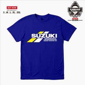 Harga kaos baju motogp suzuki ecstar team kaos otomotif   | HARGALOKA.COM