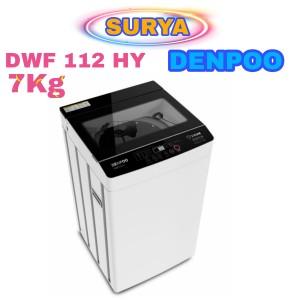 Harga mesin cuci denpoo full automatic 1 tabung dwf 112hy   | HARGALOKA.COM