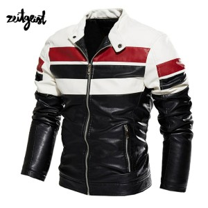 Harga jaket motor jaket kulit racing touring semi original   hitam   HARGALOKA.COM