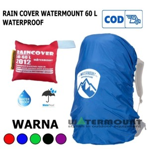 Harga rain cover waterflow 50 up 60 l cover bag not rei not eiger | HARGALOKA.COM