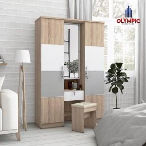 Harga lemari pakaian meja rias minimalis navaro series merk   HARGALOKA.COM