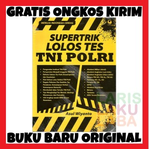 Harga buku supertrik lolos tes tni polri grasindo baru | HARGALOKA.COM