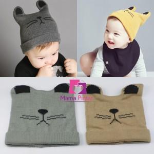 Harga topi kupluk rajut bayi newborn lucu amp imut laki laki perempuan   | HARGALOKA.COM