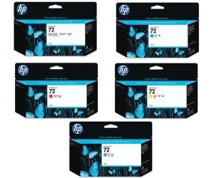 Harga tinta hp plotter 72 130mil bk g fb m c y | HARGALOKA.COM